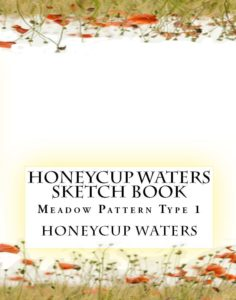 honeycup waters sketch book 1 book cover