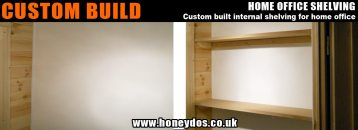 CUSTOM SHELVING