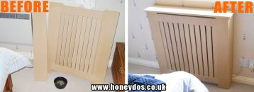 FLAT PACK RADIATOR COVER