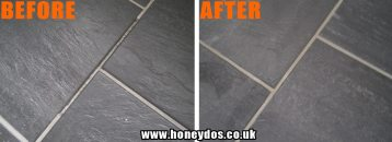 FLOOR TILES GROUTING