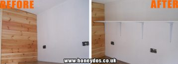 HOME OFFICE SHELVING FITTED