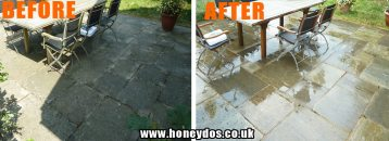PATIO JET WASHED