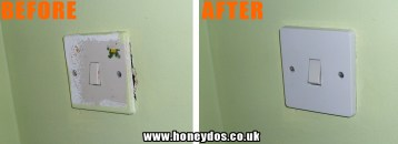 LIGHT SWITCH REPLACED
