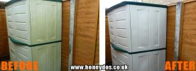 JET WASHED STORAGE UNIT