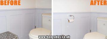 TOILET ROLL HOLDER FITTED