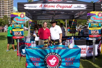 Awesome guys, phenomenal beer! The 6th Annual Great Grove Race - Miami, 2014