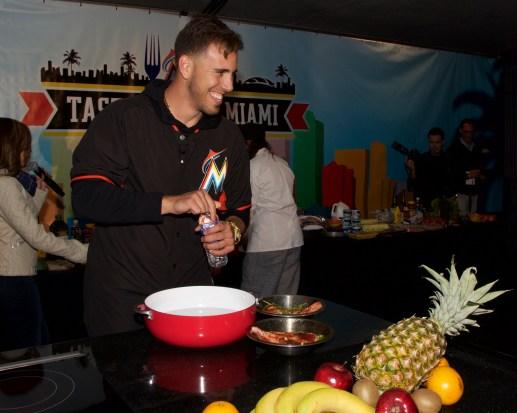 Miami Marlin's pitcher José Fernandez - this guy is A RIOT! @ Taste of Miami 2015