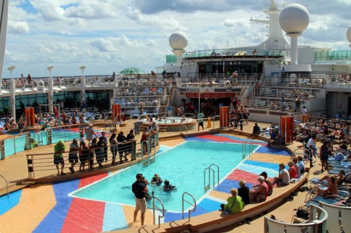 Royal Caribbean Liberty of the Sea Pools