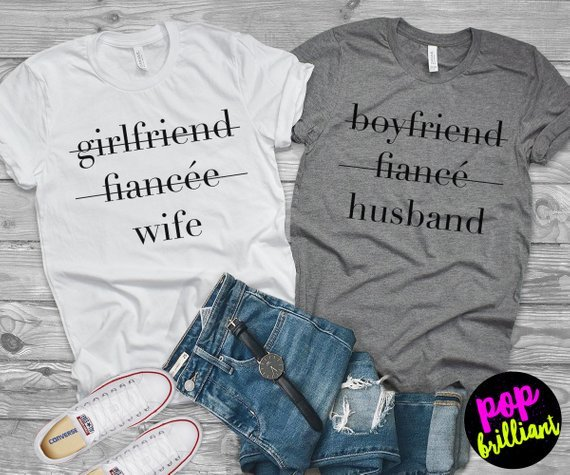 8cdb4fb8175 50 Fun Honeymoon T Shirts   Matching Couples Shirts (Oct 2018)
