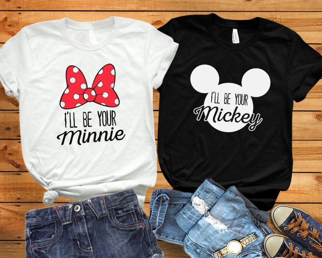 bc1c8d5fc3b Matching Disney Couples Shirts For Your Disney Honeymoon