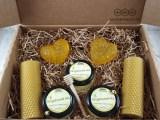 Подарочный набор с мёдом «Романтический вечер» (женский)