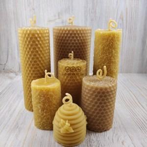 Восковые свечи