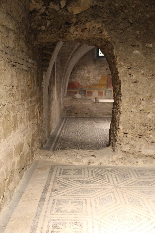 Roman house mosaics Spoleto