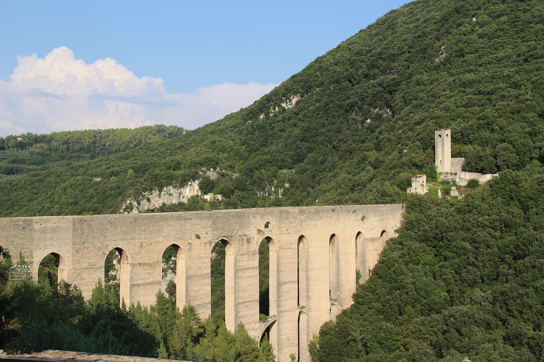 Tower bridge Spoleto