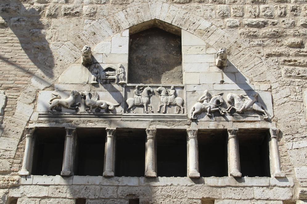 Decoration medieval jousting Narni