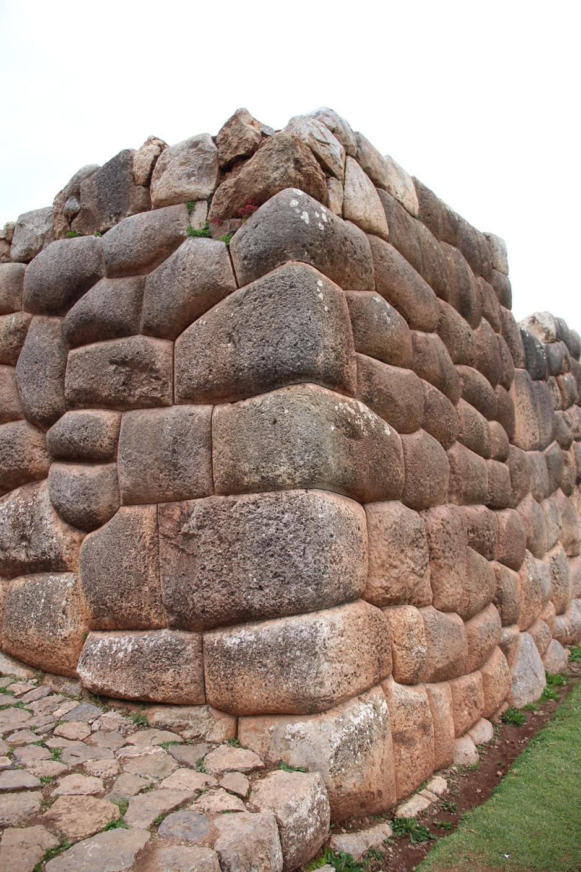 Chinchero palaca ruins stones
