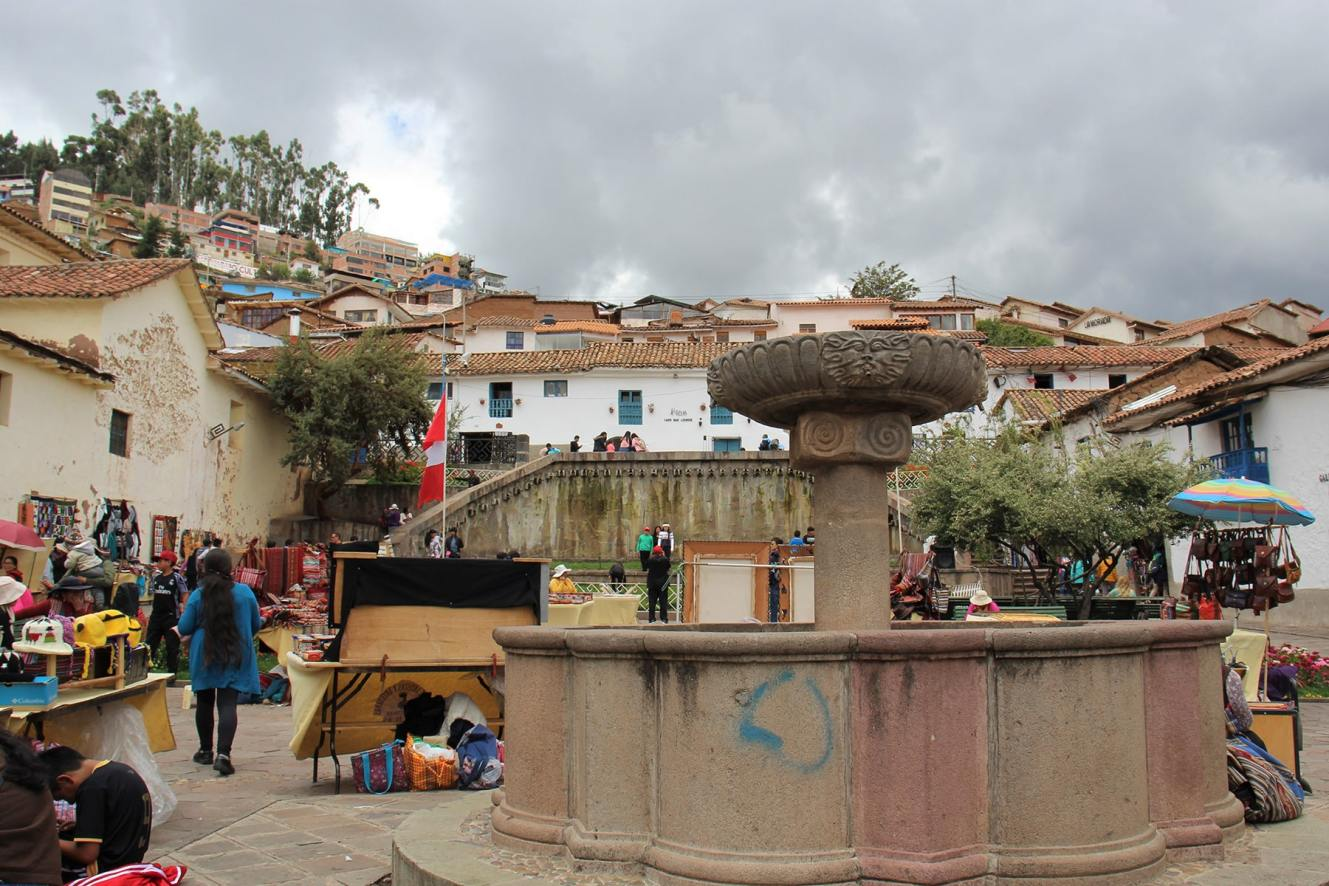 Quartiere di San Blas a Cuzco