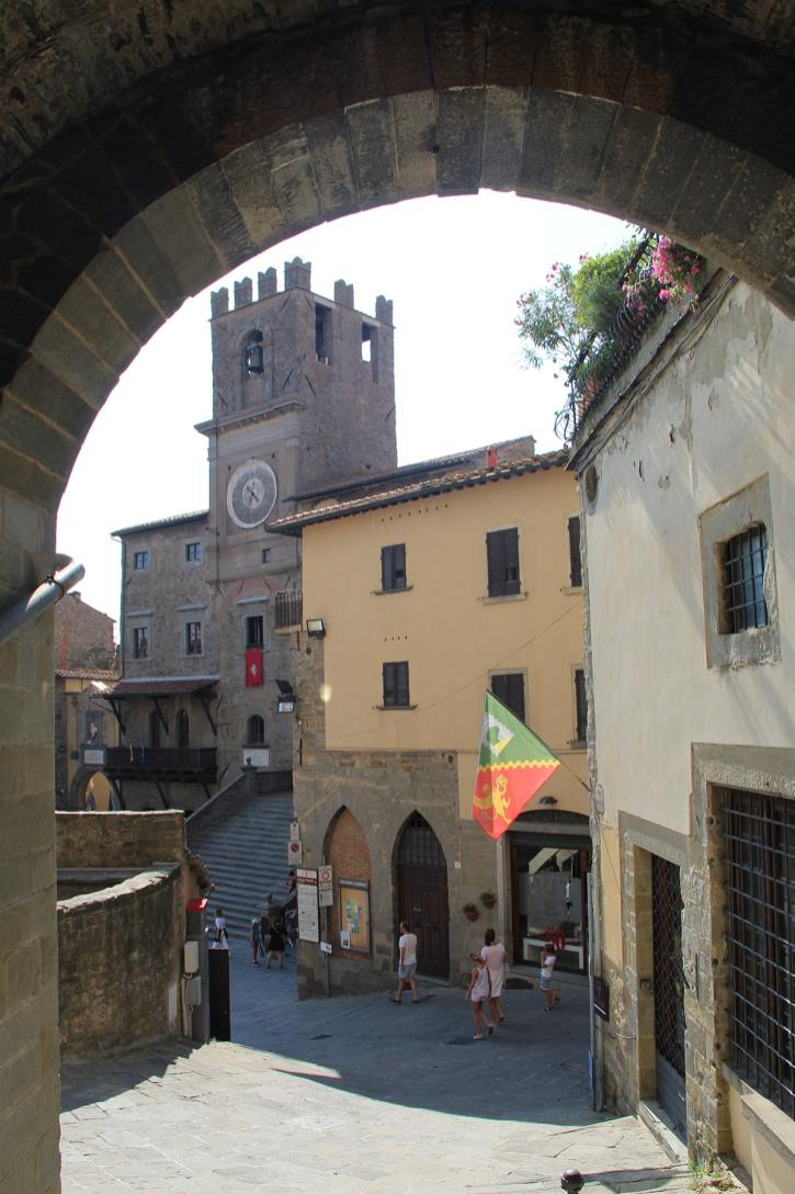 View on a square in Perugia