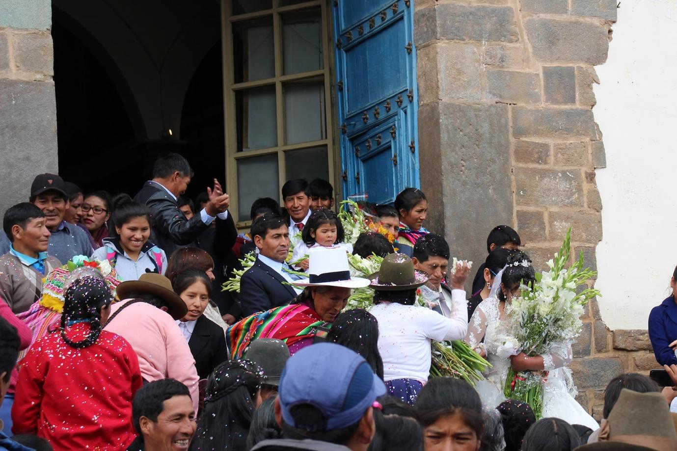 Matrimonio a San Blas, Cuzco
