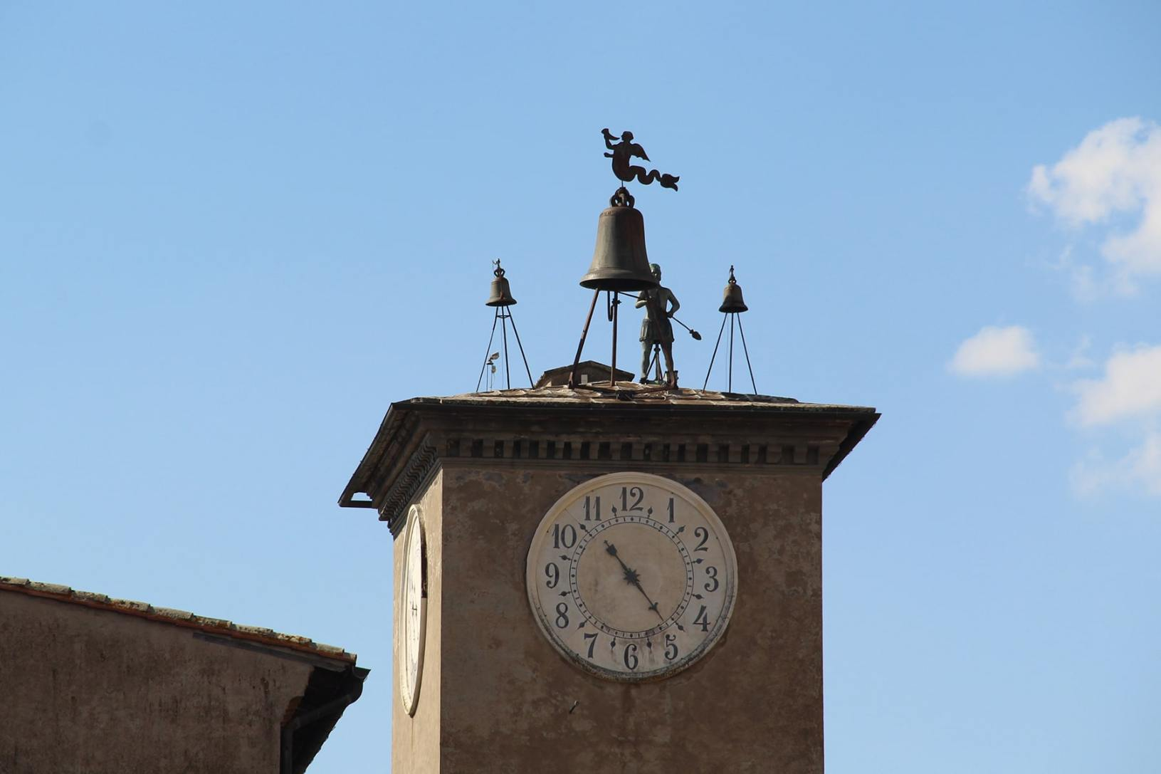 Tower with bell Orvieto