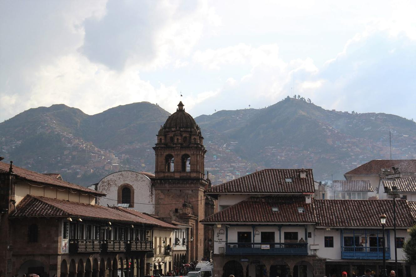 Cuzco towerbell and hills