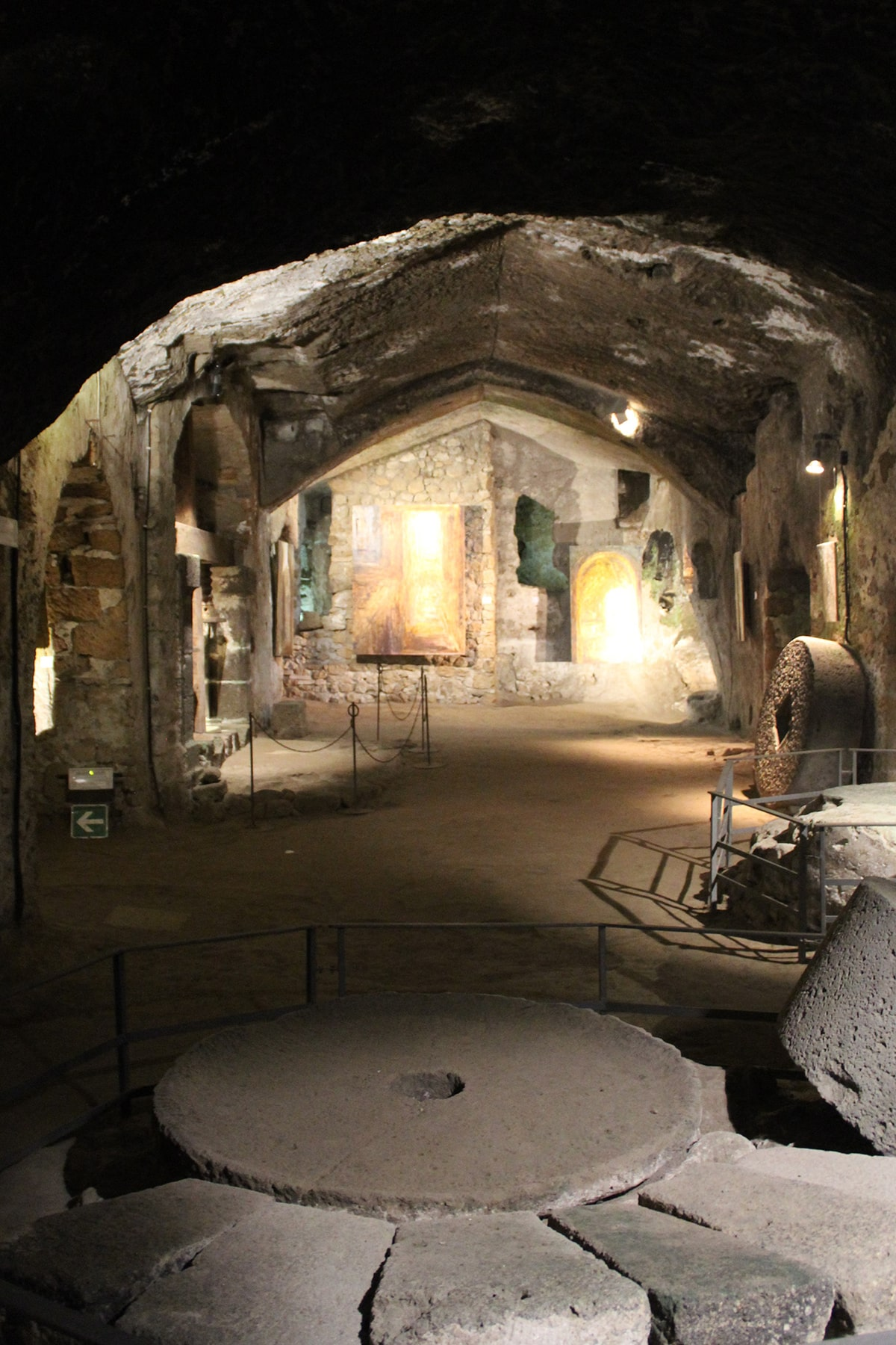 Mills underground Orvieto