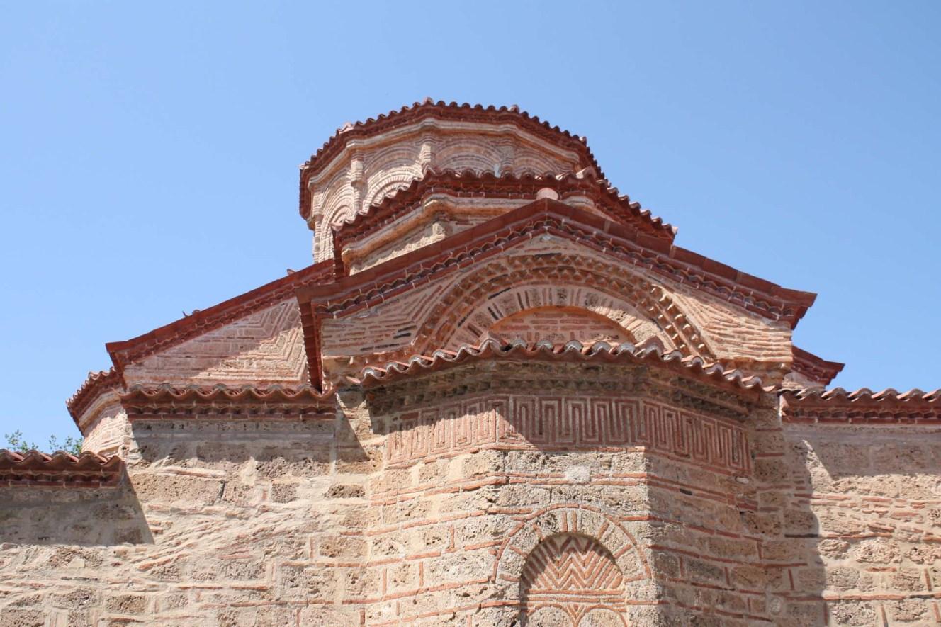 Architecture d'un monastère des Météores