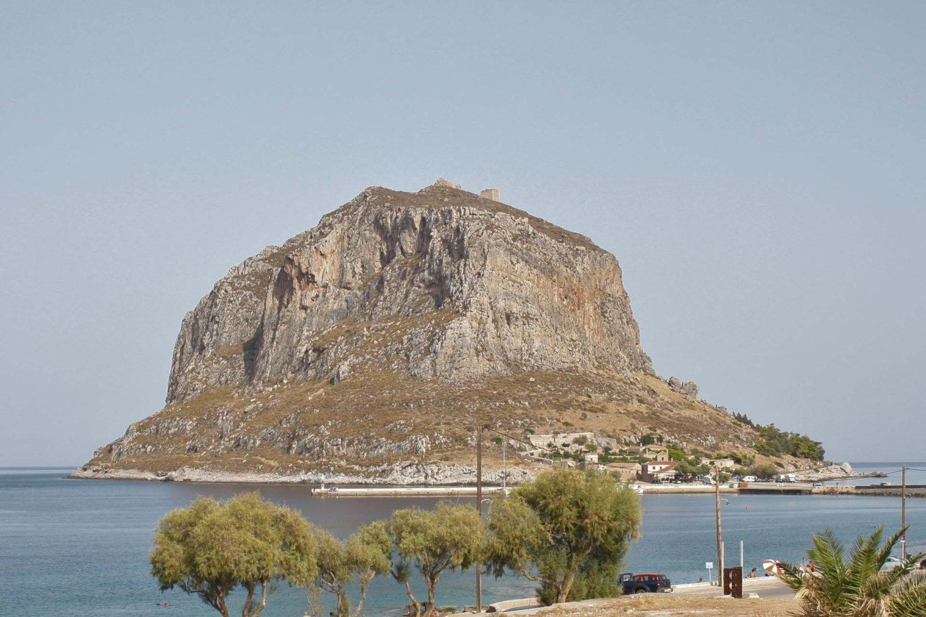 Rocher de Monemvasia