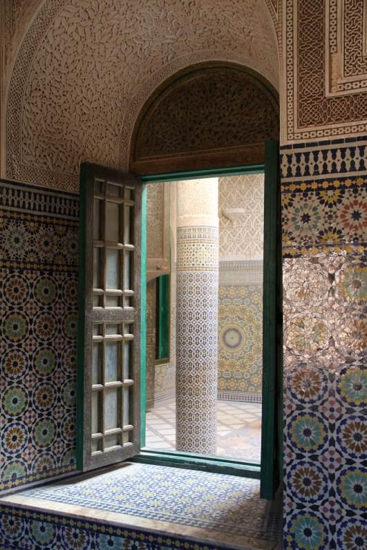 Finestra nella kasbah di Telouet