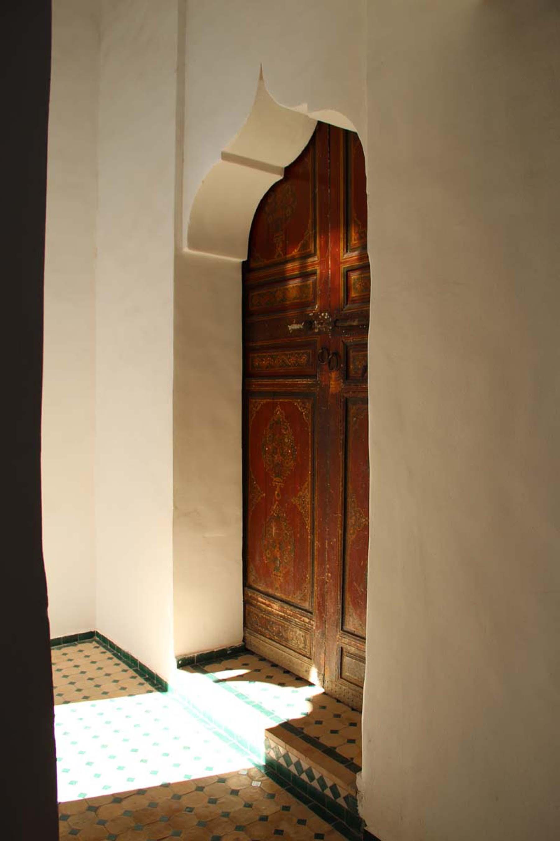 Door in Marrakech Dar Si Said