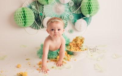 Worthing Cake Smash Photography | Pearl 1st Birthday