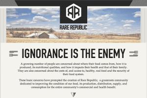 Rare Republic - A food community for Waterloo Region