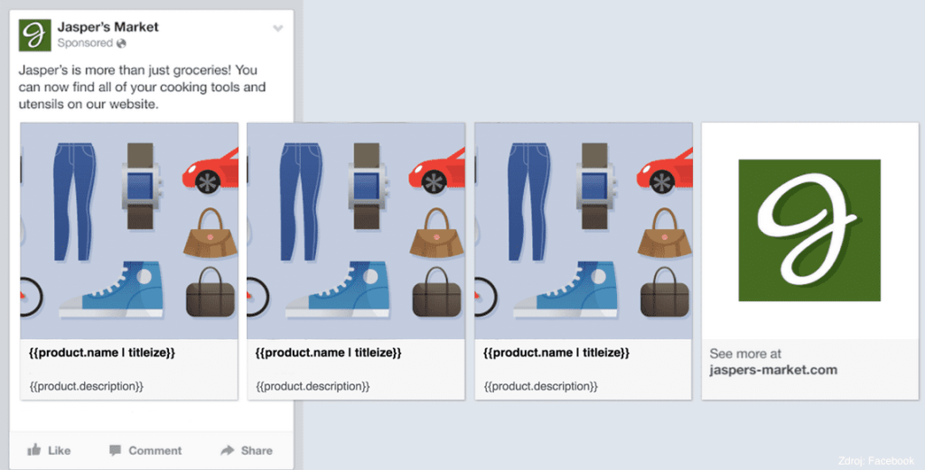 Facebook dynamic ads preview