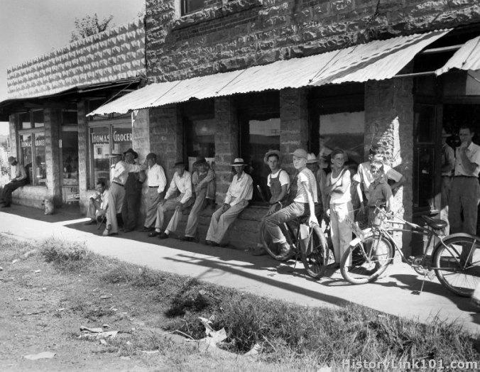 bokoshe ok post office 1946