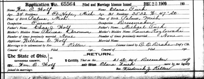 Wolf Turk marriage