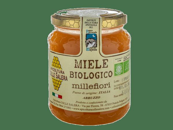 Honey the Brave - Apicoltura Colle Salera - Barattolo Miele Millefiori