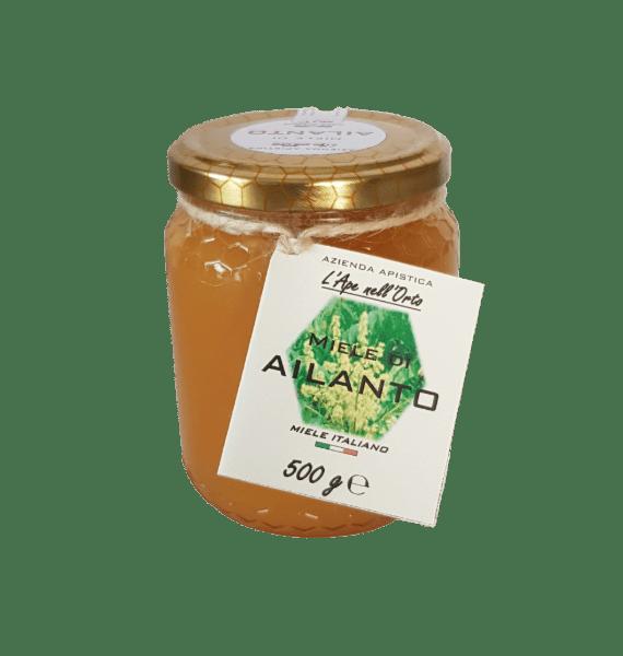 Honey the Brave - Azienda Apistica L'Ape nell'Orto - Barattolo Miele Ailanto
