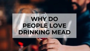 why do people love drinking mead