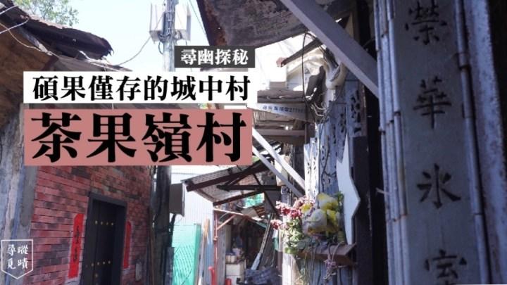 【尋幽探秘:碩果僅存的城中村——茶果嶺村】