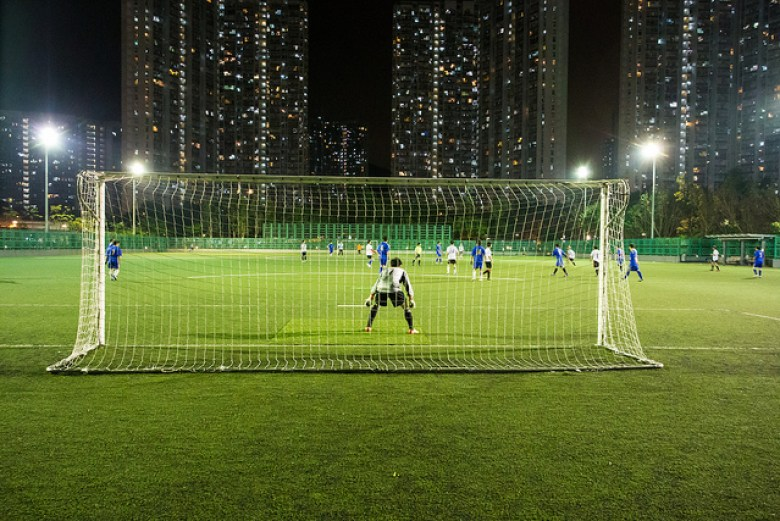 HK football game at night. Photo: See-ming Lee via Flickr.