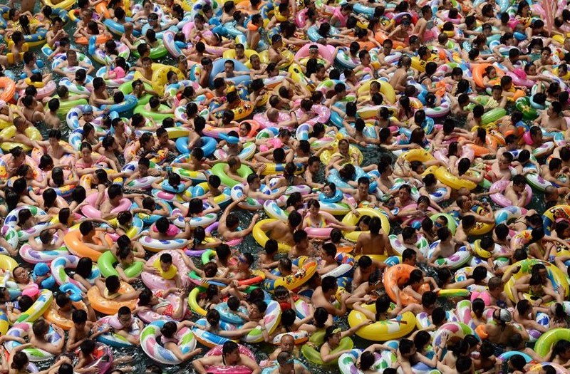 Sichuan swimming pool