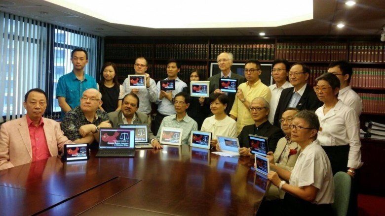 hong kong lawyers china human rights crack down
