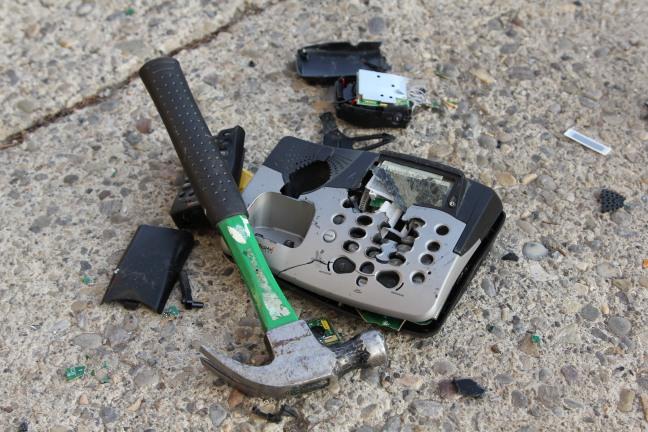 phone smash