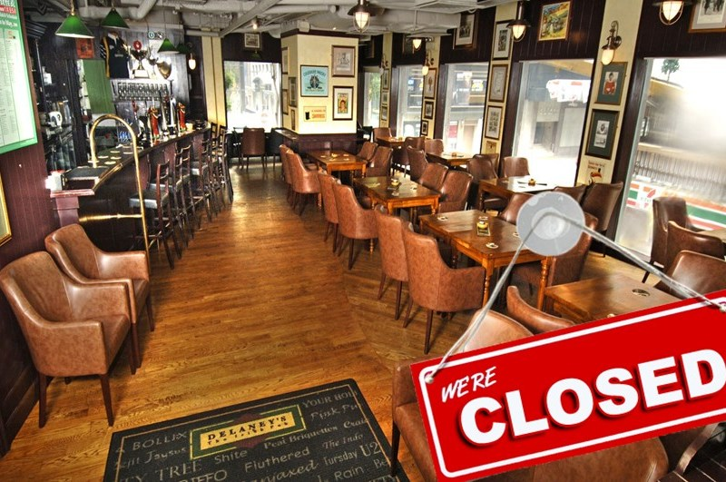 delaney's wanchai closed