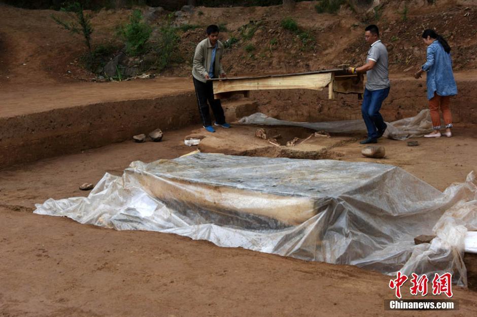 excavation site, qinghai