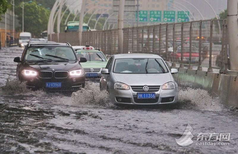 Flooding in Shanghai