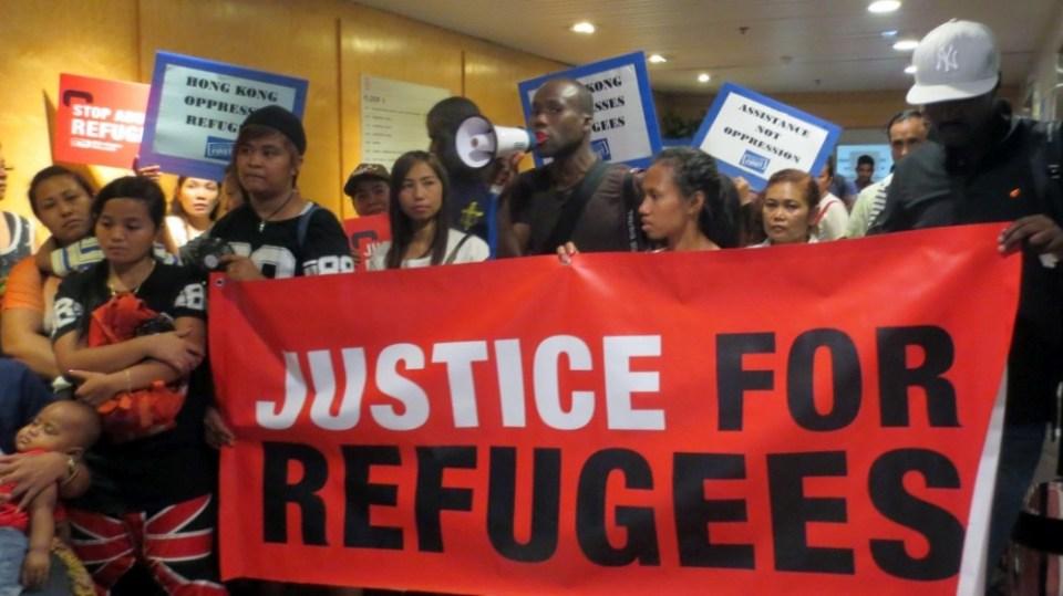 refugees hong kong