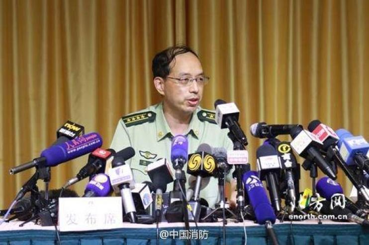 Tianjin ire department chief Zhou Tian
