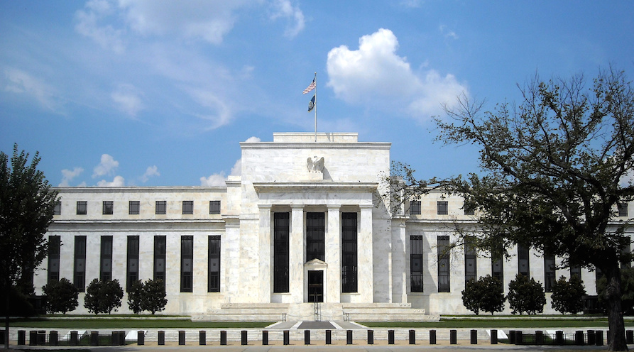 US Federal Reserve. Photo: Wikicommons.