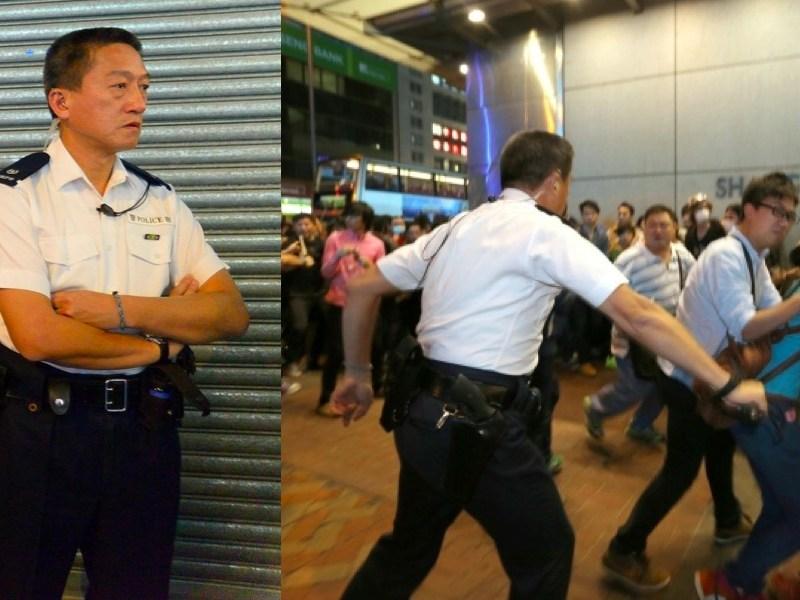 chu king wai occupy hong kong police